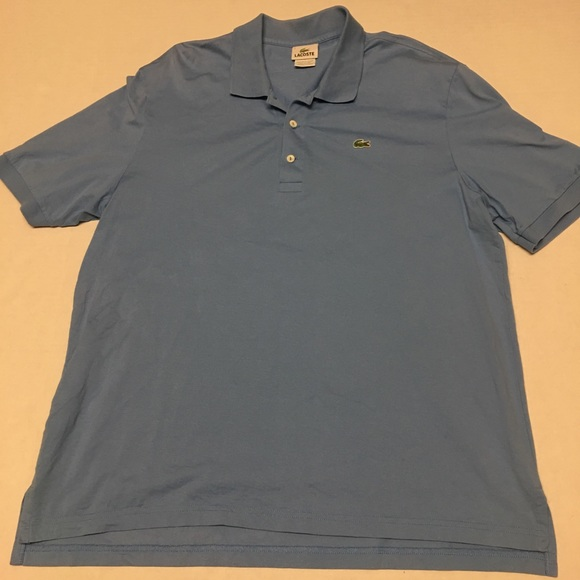302ecef37 Lacoste Other - Lacoste blue crocodile logo polo shirt